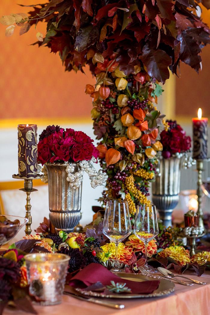 Hochzeit in der Villa Rothschild, Frankfurt.