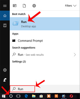 best way to launch run command box in windows 10