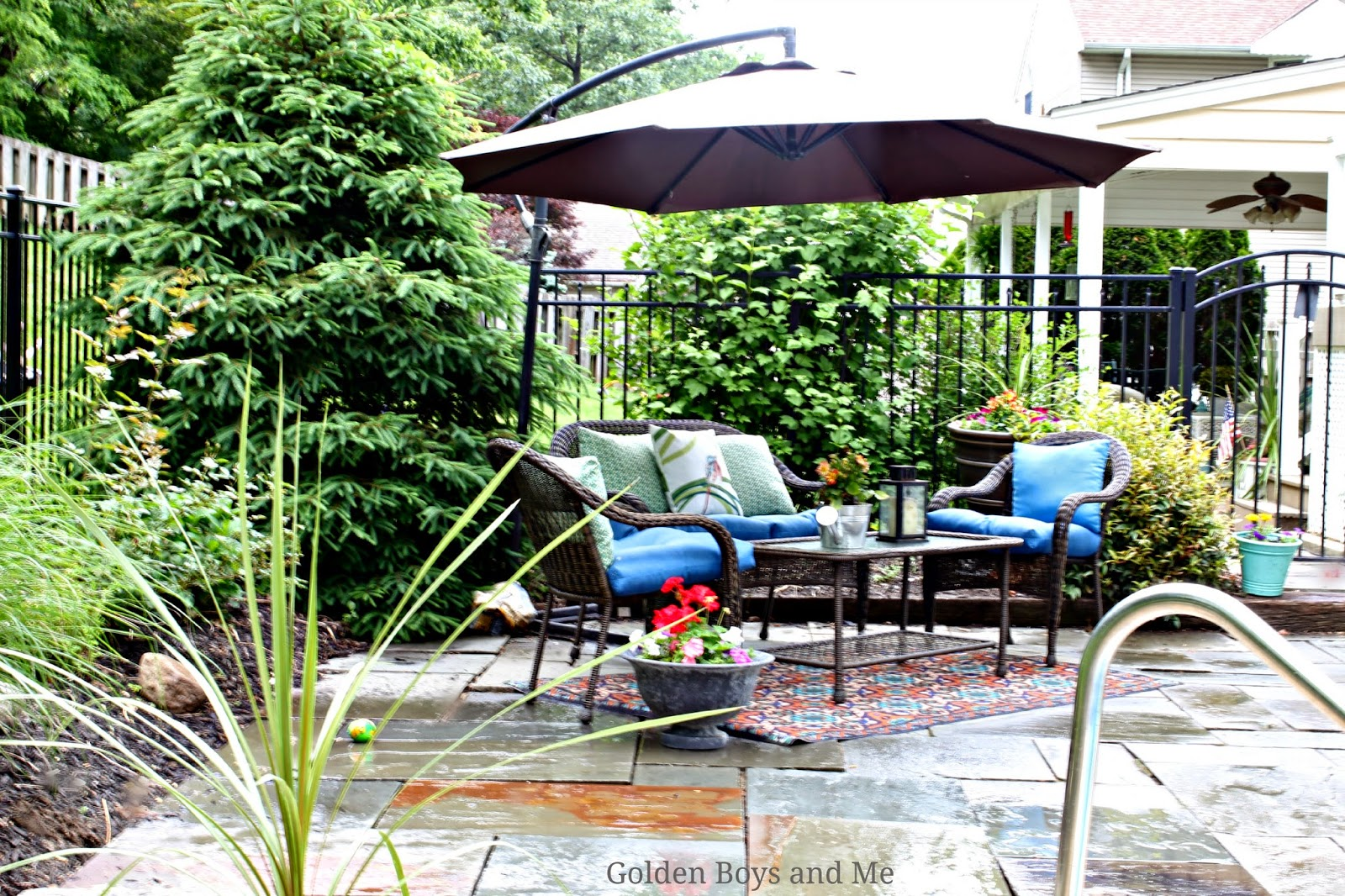 Lowes Garden Treasures Severson Wicker Furniture Www Goldenboysandme