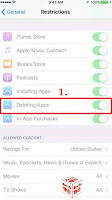 how to delete apps from lost iphone