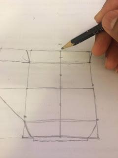 วิธีร่างภาพเหมือน,การร่างโครงสร้างภาพ,การขึ้นโครงสร้าง,ขั้นตอนการร่างภาพ