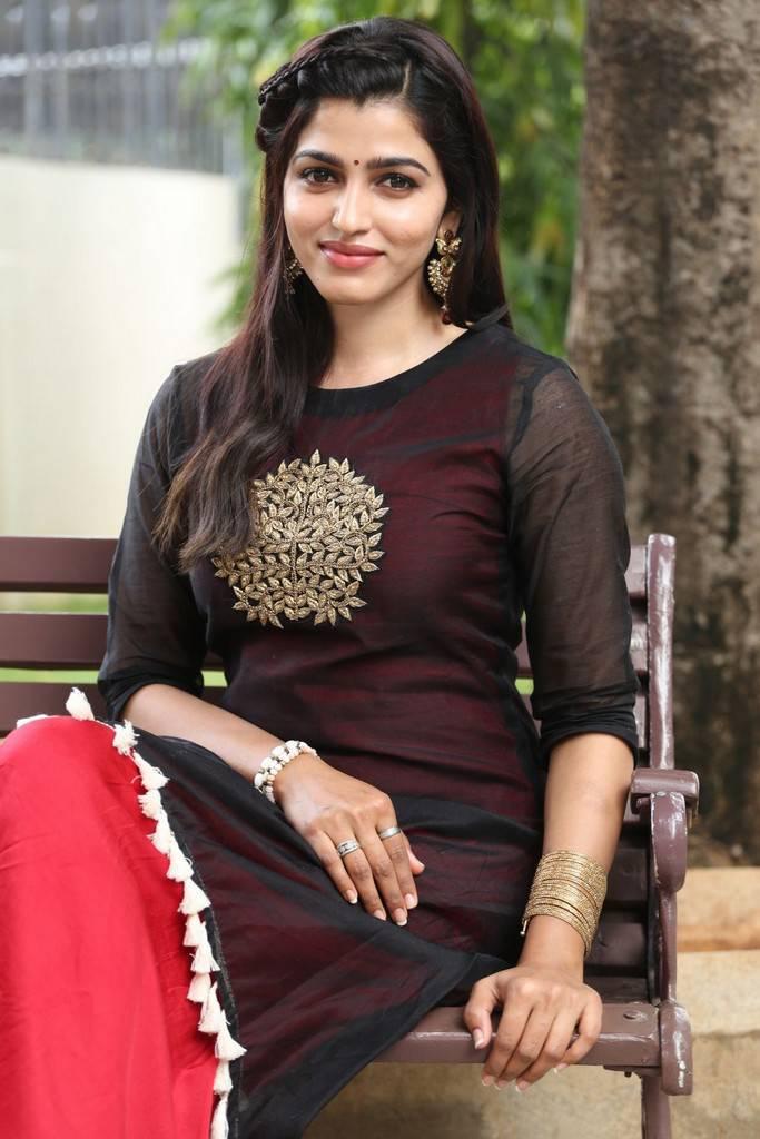 Dhanshika Photos At Meela Movie Press Meet