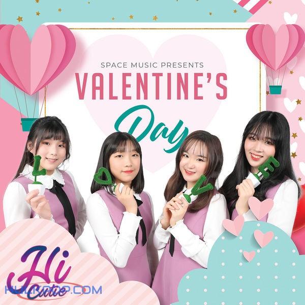 HI CUTIE – Valentine's Day – Single