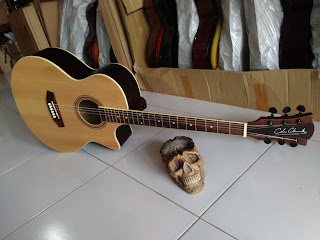 Gitar Cole Clark Cyprus Top Custom
