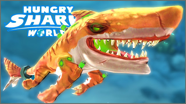 Hungry Shark World v3.1.0 Apk Mod [Dinheiro Infinito] - Winew