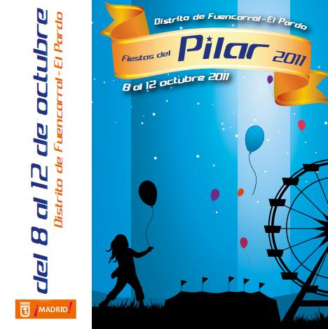 Programación de las Fiestas del Barrio del Pilar 2011