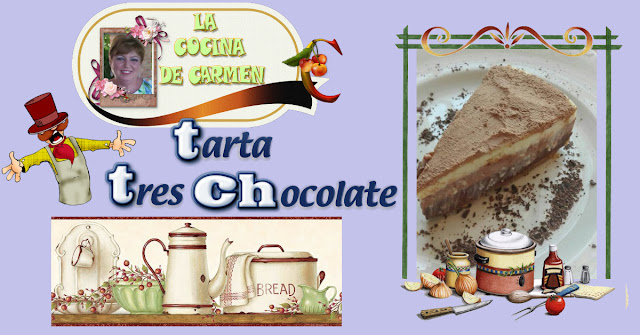 Tarta tres Chocolate