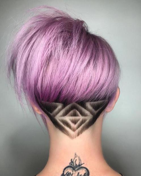 super trendy hair tattoos