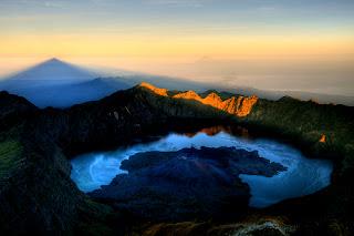 Obyek Wisata Gunung Rinjani