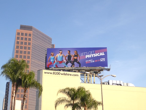 Lets Get Physical season 1 billboard