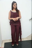 Nikki Galrani in a Brown Shining Sleeveless Gown at Nakshatram music launch ~  Exclusive 072.JPG
