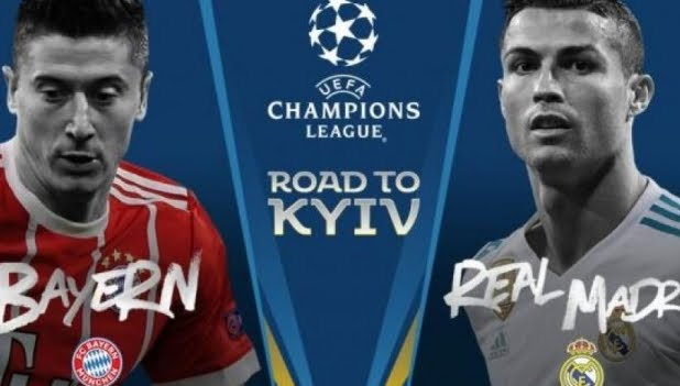 DIRETTA BAYERN MONACO REAL MADRID Streaming Gratis in chiaro TV su Canale 5 | Champions League LIVE