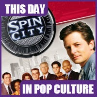 "Michael J. Fox left ""Spin City"" on January 18, 2000"