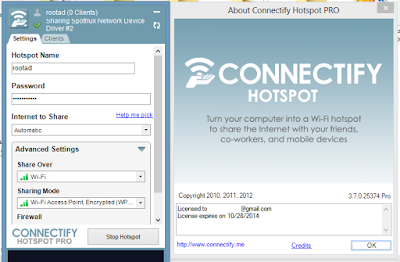 Download Connectify Hotspot 9 Pro + Crack Full Version