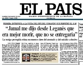 El País entrevista a la viuda de Jamal Ahmidan