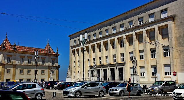 Faculdade de Medicina da Universidade de Coimbra, no Largo da Porta Férrea