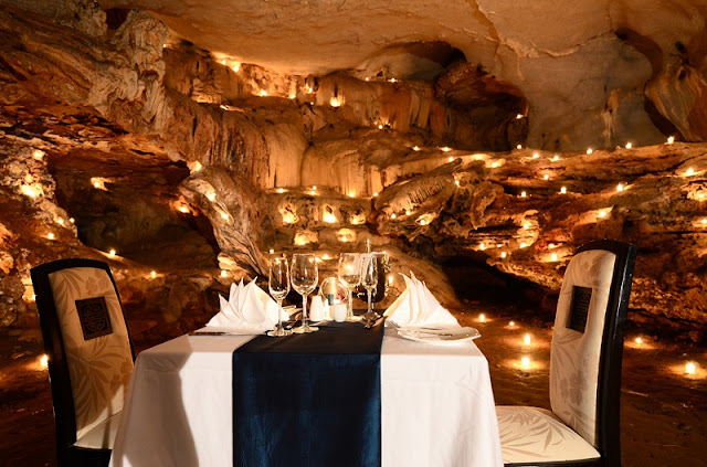 Halong Bay cave dining ~ A life time experience! 3