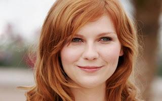 Kristen Dunst viso rotondo