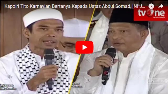 Ngabalin Stroke: Saat Ustad Abdul Somad Bicara Tentang Kepastian Hukum