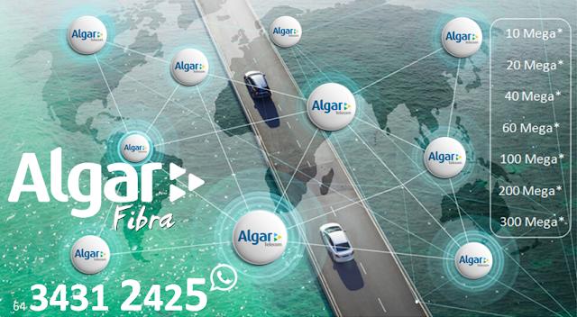 Planos de Internet Vi Fibra óptica Algar telecom Uberlândia.