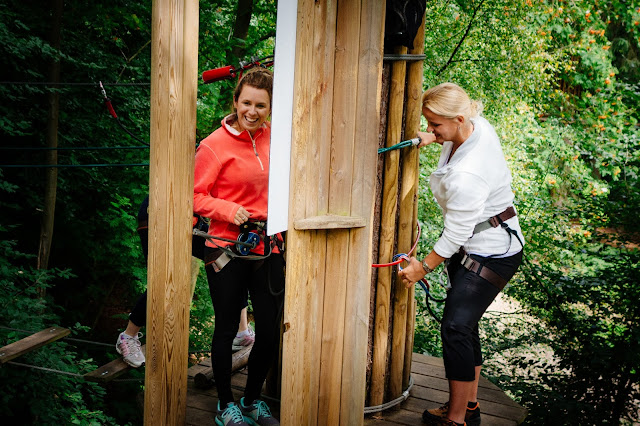 Go Ape, Mum Tum workout