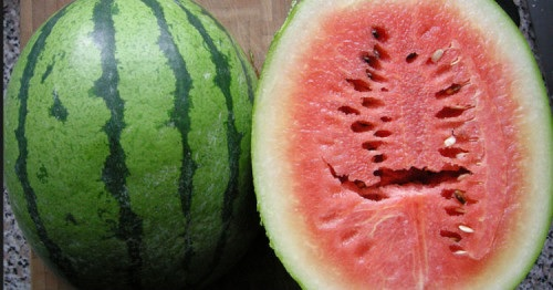 If You Ever See Cracks In Your Watermelon When You Cut It, Throw It Right Out. It Can Make You Sick