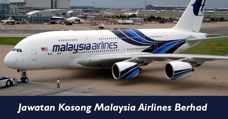 Jawatan Kosong di Malaysia Airlines Berhad MAB