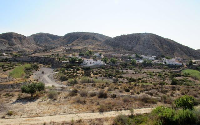 Paisajes y cortijos de Cabo de Gata en Almería