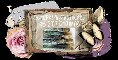 http://scrapki-wyzwaniowo.blogspot.gr/2017/02/february-2017-challenge-1st-reveal-brush.html
