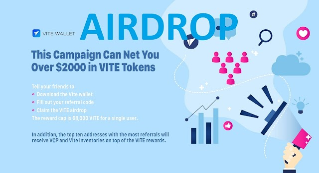 Get up to 2000$ Worth Vite Tokens