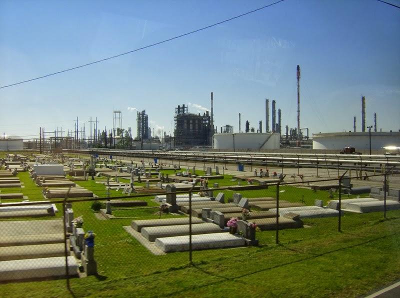 No allItalia petrolizzata Cancer Alley Louisiana