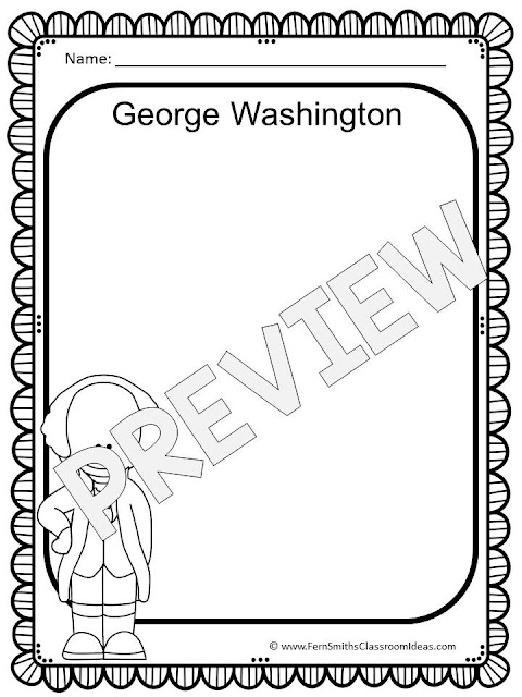 Fern Smith's Classroom Ideas Presidents' Day Resources and Freebie Lessons and Freebies!