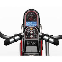 Max Trainer M5 blue backlit monitor, image