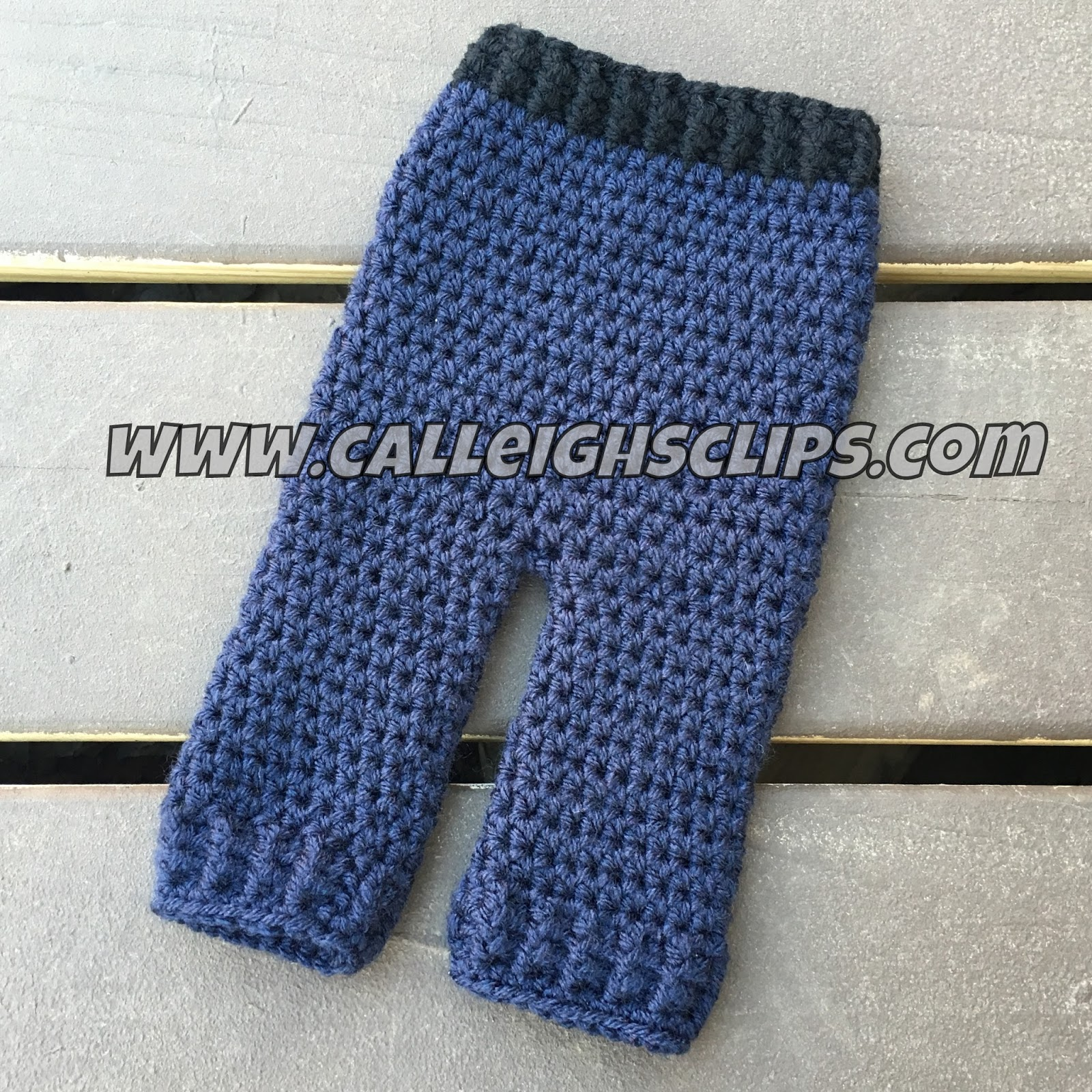 Calleigh s Clips   Crochet Creations  Police Officer Crochet Hat and Pants  Set 4a22978300c
