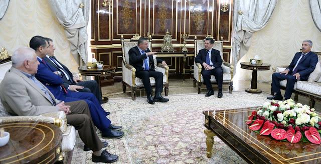 Mesrur Barzani Irak Ulusal Kongresi