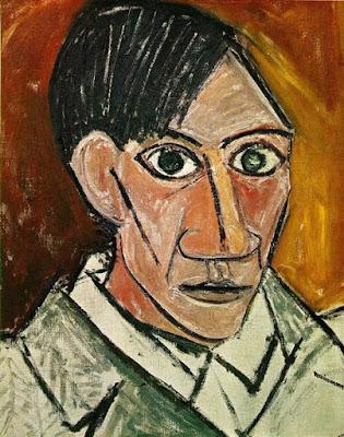 Pablo Picasso - autoportrait,1907.