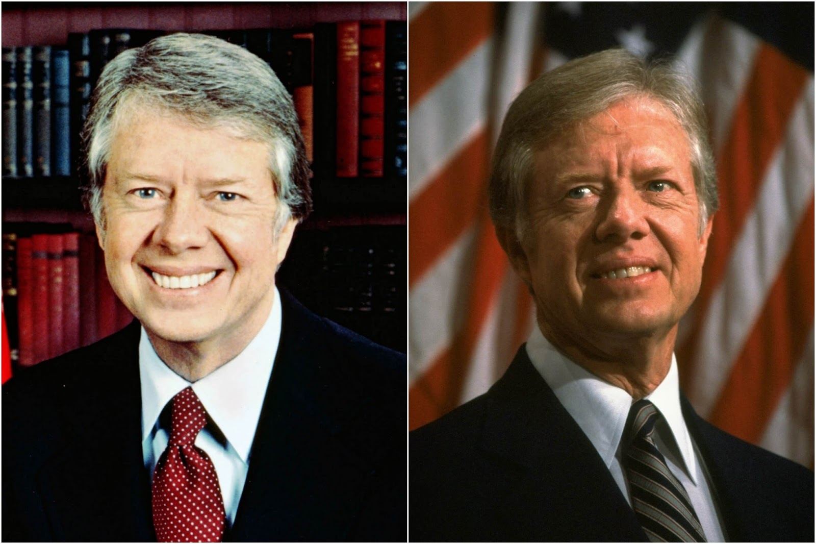 15 Before And After Photos Of US Presidents Depict How Their Job Transformed Them - Jimmy Carter (1977-1981)