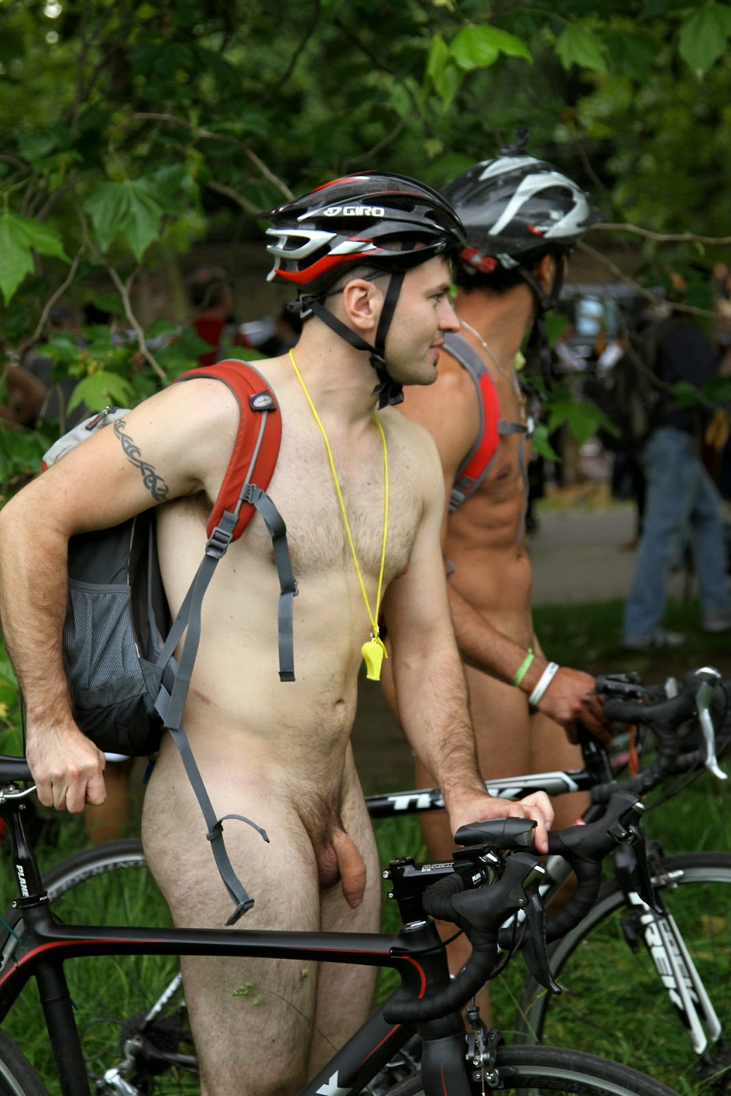 No boulder bikers ticketed for nudity