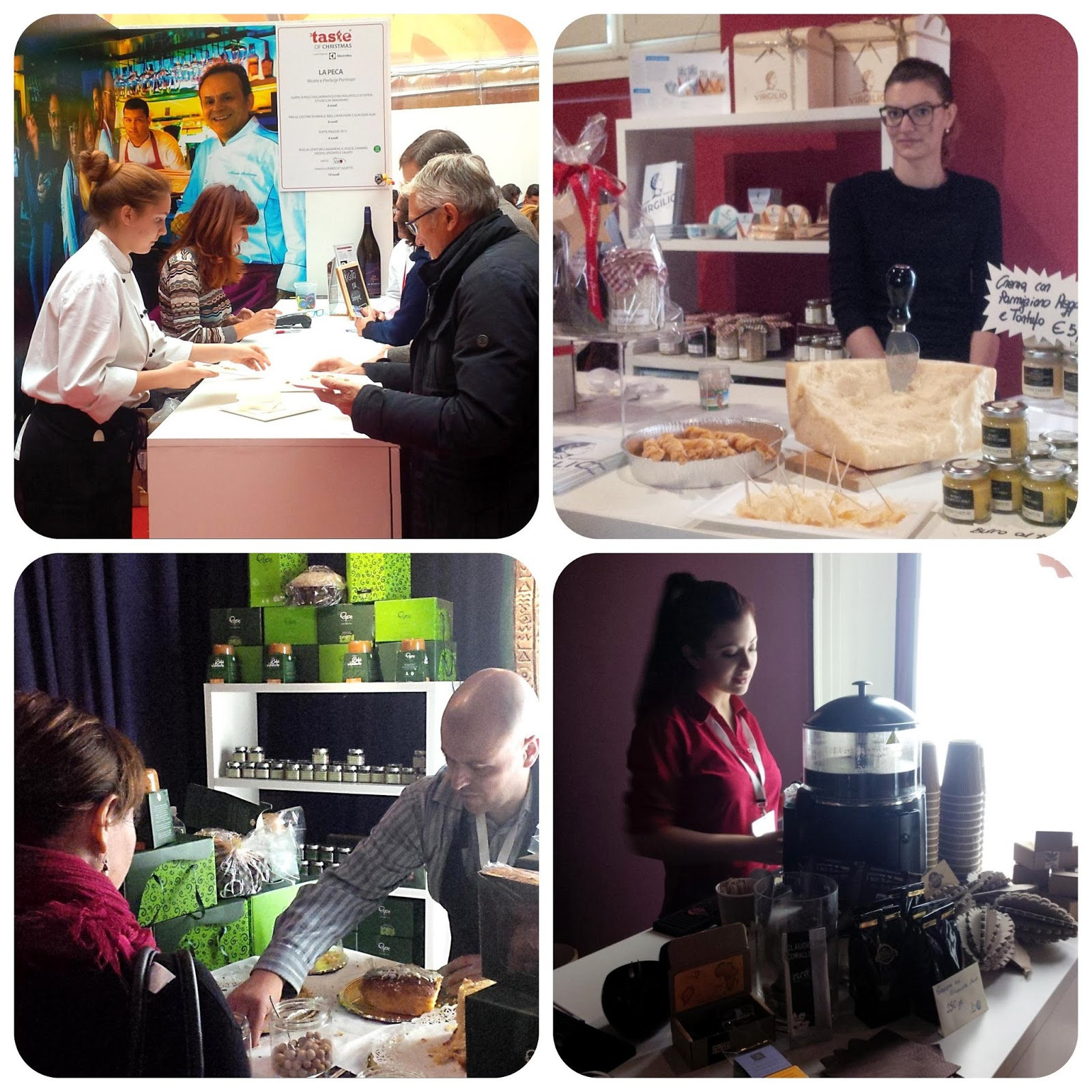 Food producers from Northern Italy exhibiting at Taste of Christmas in AMO, Verona