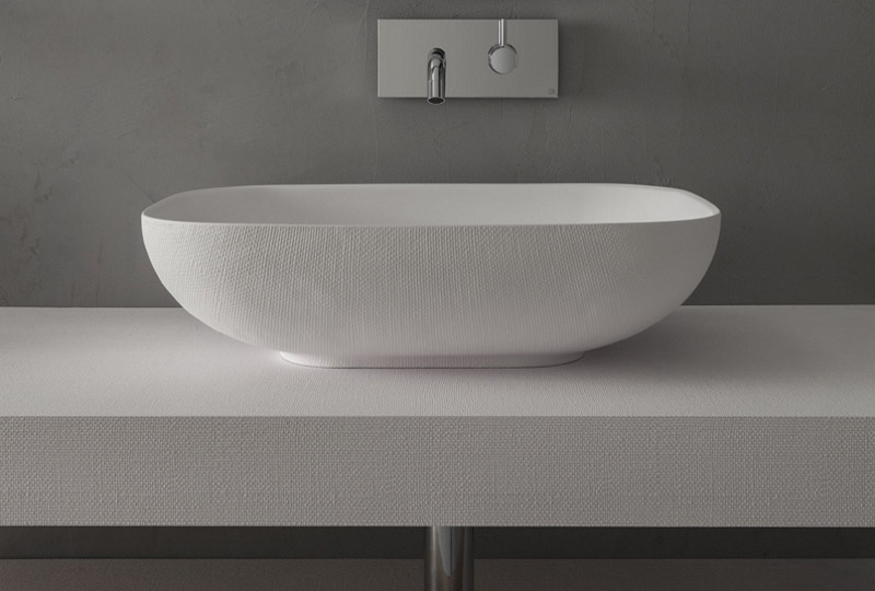 lavabo ovale Arblu Juta