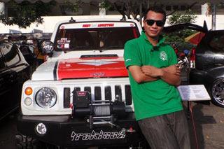 Hasil Modipiksai Katana - Biaya Modifikasi Suzuki Katana Offroad 4x4 Ban Besar Mirip Jeep Hummer Rubicon