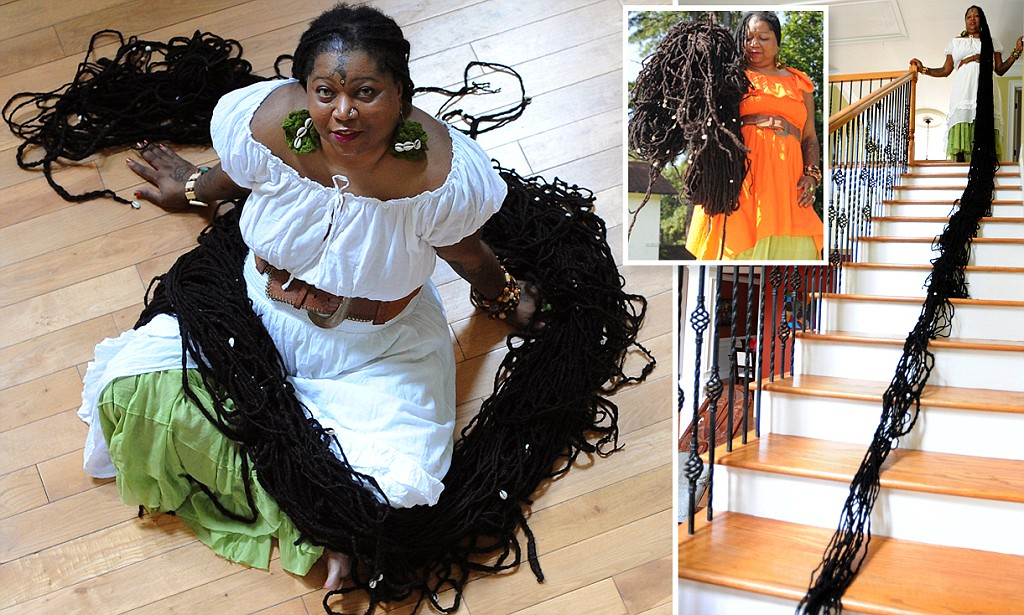 Talk to Kemi (TtK) : Longest Hair African Man Married ...