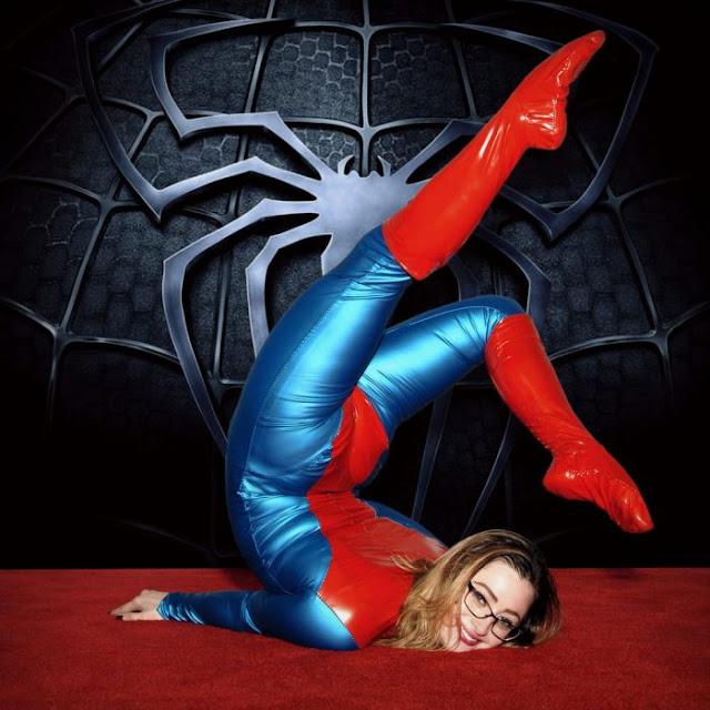 Las cosplayers de Spider Girl más sexies que encontrarás