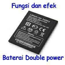Apa fungsi dan efek baterai double power itu ?