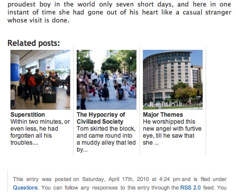Related Posts WordPress Plugins