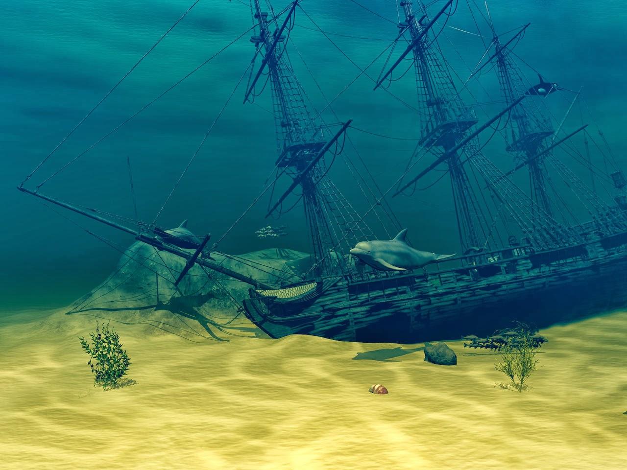 Sacred Ground Travel Magazine: Primal Wilderness Rambling ... |Sunken Ships Underwater