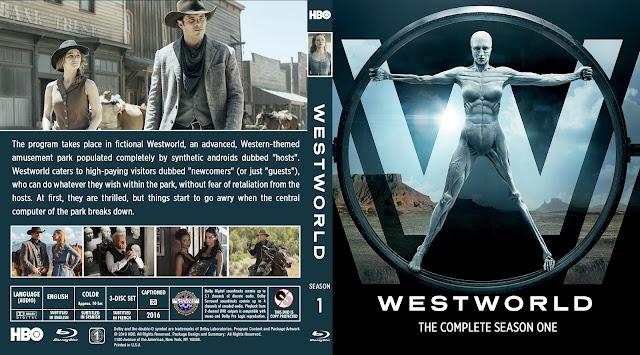 Capa Bluray Westworld Primeira Temporada Completa