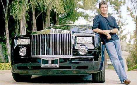 Simon Cowell - Rolls Royce Phantom