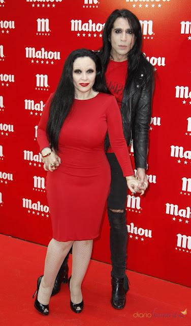Alaska con su marido Mario Vaquerizo