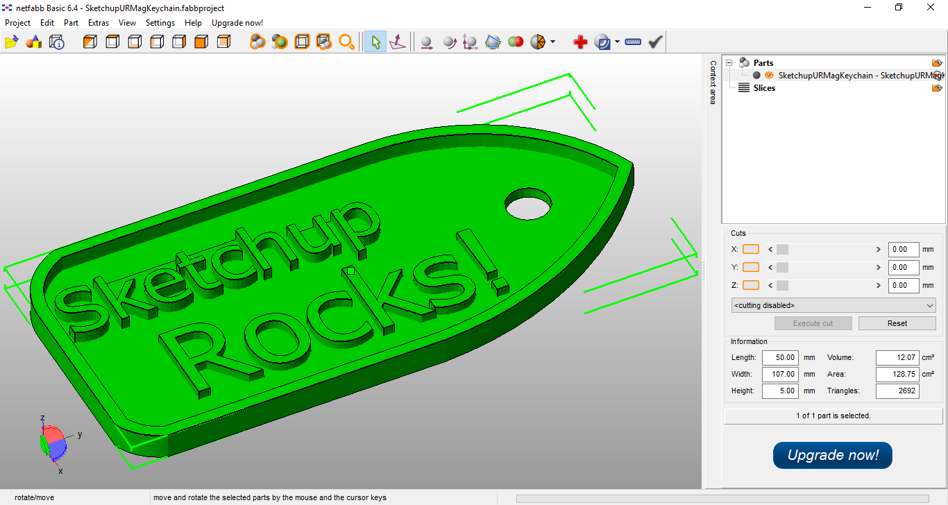 As TIC em 3D/Fab@rts: 3D Printing With Sketchup: Quick Tutorial